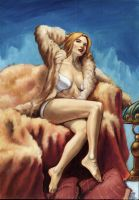 Tribute to Emma Frost by cosimoferri