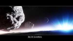 Blue Gamma by Wetbanana