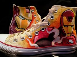 Iron Man comic to screen Customs by VeryBadThing