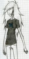 A wild unfinished Vriska appeared! by xTimelessxRiver-x3o