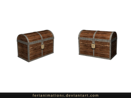 Treasure chest by FeriAnimations