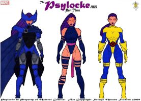 Psylocke Series: Part Three by SavageMouse