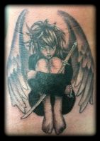 Angel by state-of-art-tattoo