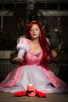 I'll catch you no matter what Sebastian!!! - Ariel by LadyRoseTea
