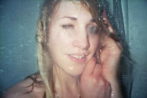 Under the shower / Cami by Contempt-of-Pain