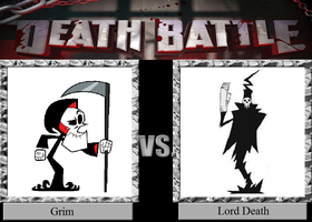 Death Battle 32: Death Versus Death! by HailfirePhantom