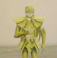 Shaka Virgo Gold Saint Papercraft by AdrianoMartinsS