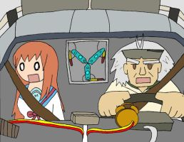 Mikuru and Doc Brown by Selecthumor