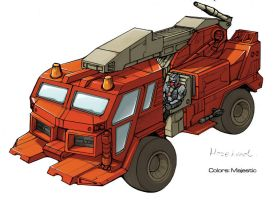 Transformers Hosehead truck by VulnePro