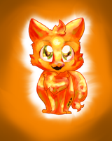 Chibi Firestar by AveryMar