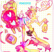 His name is Pewdiepie by Cheapcookie