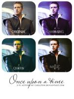 Once upon a time : 3 ps actions by Carllton