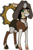 MLP Steampunk limbhead pony auction 18 CLOSED by ElkaArt
