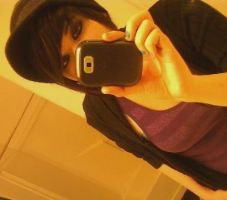me in a hat by EmoSkater4Life