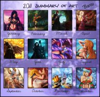 2011 summary of art by diabolumberto