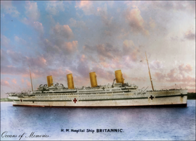 In Memory of Britannic - November 1916 by RMS-OLYMPIC