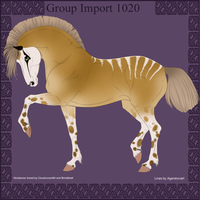 Group Horse Import 1020 by Cloudrunner64