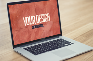 Laptop - Realistic Mock Up II by DOMDESIGN
