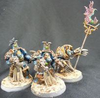 Thousand sons terminators by Solav
