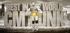 CM Punk - Best in the World by M2K-82