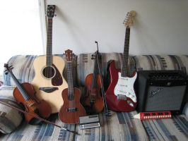 My Instruments.. by CATSAREGREAT