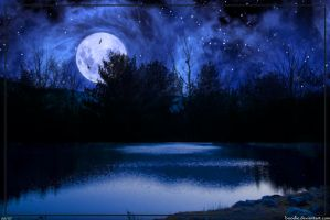 Blue Moon by boodie
