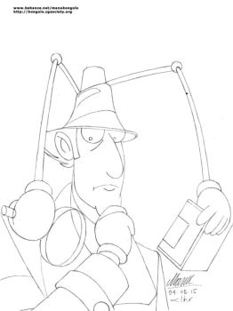I is for Inspector Gadget by manukongolo