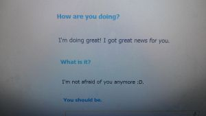 Cleverbot... Wants me dead by MissLadyDemon