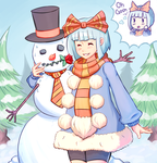 Rekoteh and her Snow Husband by Skellytune