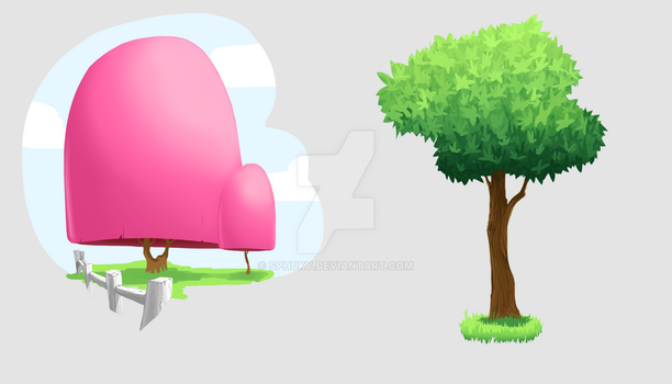 Spring 2016 - Tree Experiments by Sphuky