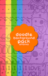 Doodle Background Pack by allaixa