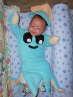 Baby Squid Costume by HappyCreations
