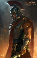 Gladiator: Rise of Legends - Soldier by Rob-Joseph