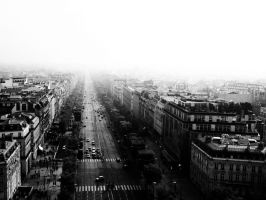 Perspective from ArcDeTriomphe by HATEetc