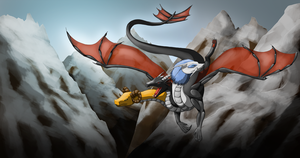 Commission - Winter Hydra by Cryophase