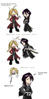 """FMA-Bleach- Who's Shorter? by Kenichi-Shinigami"