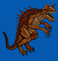 Tarrasque by CosbyDaf