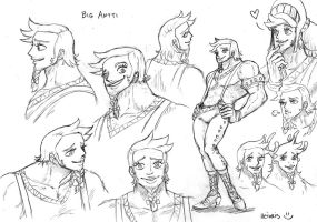 Human version of Big Antti by heivais