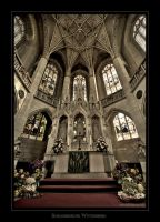 Wittenberg III castle church by EYELIGHTZONE