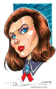Elizabeth from BioShock by ToddNauck