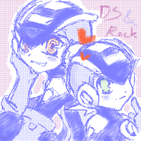 DS and Rock by whitmoon