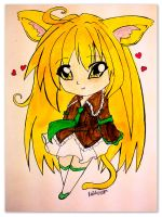 Sofia chibi coloured by littlestarartist