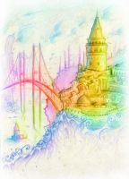 A Collage from Istanbul by Starshrouded
