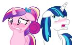 Blushing Ponies by allanah
