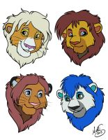 Headshots for HaloSon by Miss-Melis