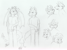 OCW: Finding lost Honor ref: milo by Tatta-doodles