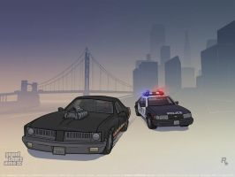 GTA 3 Diablos Chase by redfill