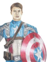 Captain America by Mesymes