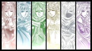 Brave Frontier - Guardians of Meirith by yumikari07
