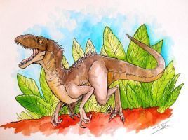 Raptor by NienorGreenfield